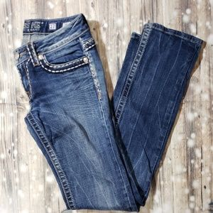 Miss Me Jeans - Miss Me Irene Straight Jean's Size 27